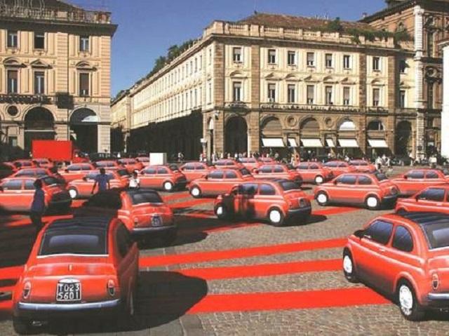 Langste_Fiat_parade